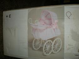 ~BEAUTIFUL VICTORIAN STYLE BABY DOLL BUGGY....NEW...22.99
