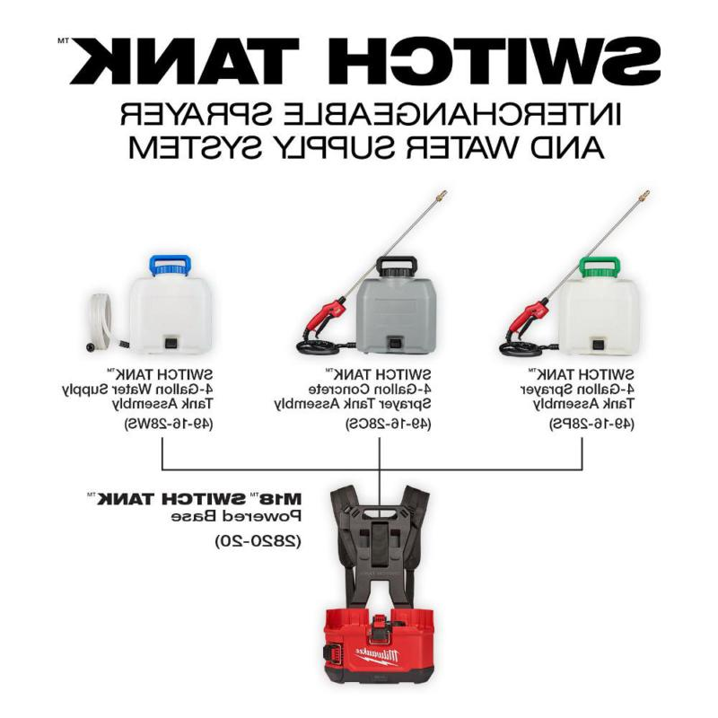 Milwaukee Pump Mister Switch Backpack 4 Gal