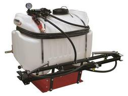 Extra Large 40 Gal 3 Point 12V Hitch Sprayer 2.1 GPM Diaphra